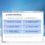 Development environment for wordpress: instant wordpress